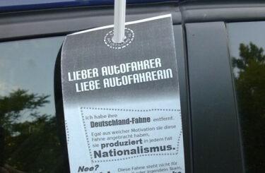 Deutschlandfahne Berlin Anti-Deutsch