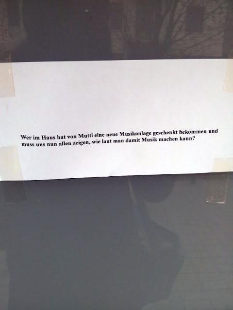 laute Musik Nachbarn Berlin