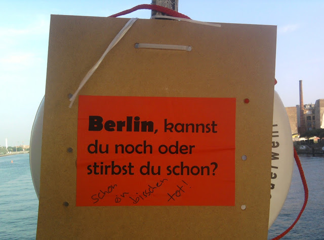 Berlin is over