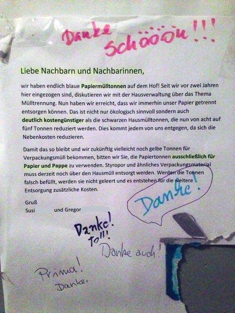 tolle super nette freundliche nachbarn berlin