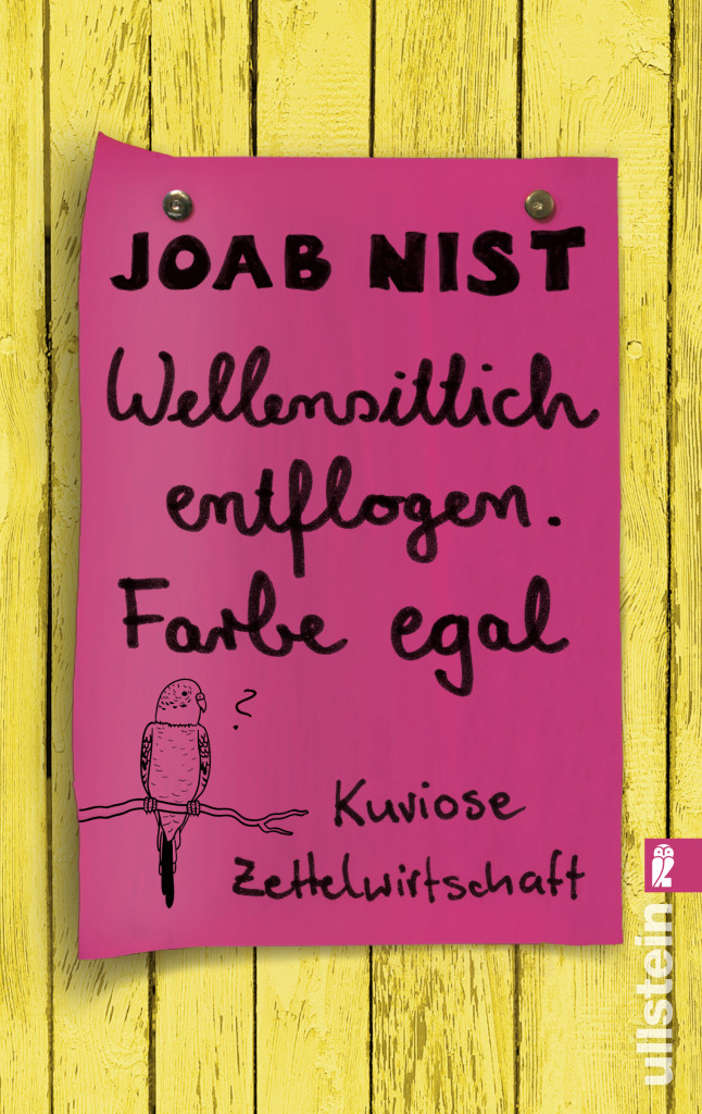 Cover_Wellensittich_Joab Nist