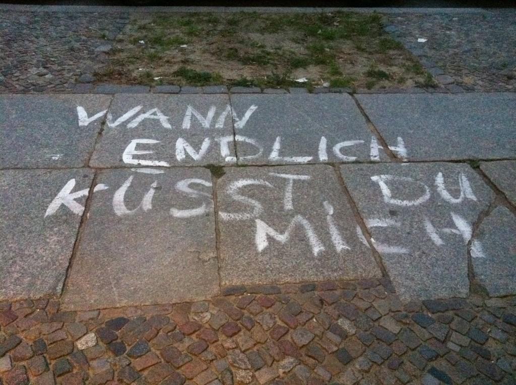 Küssen in Berlin