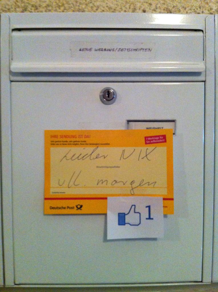Pberg_Marcels Briefkasten_Chat mit dem DHL-Boten 1 u 2