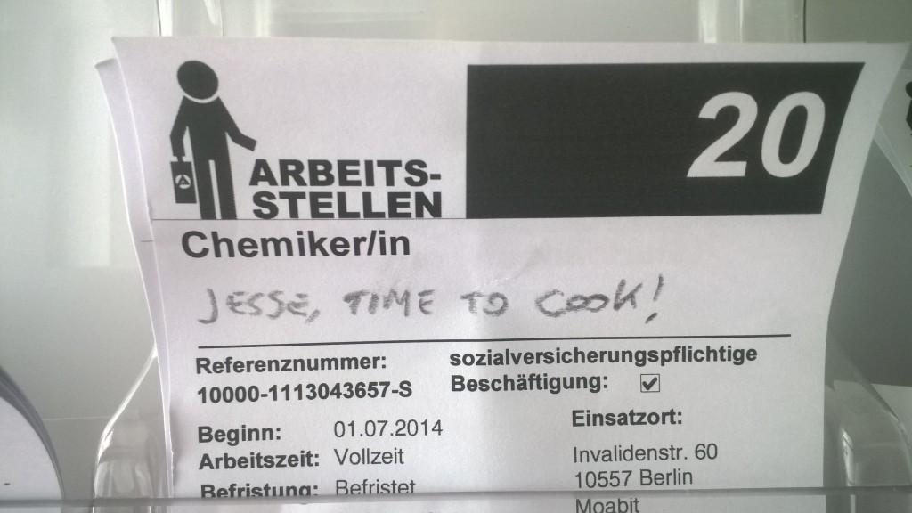 AA Arbeitsamt Mitte_Fenderbender_Teil 2