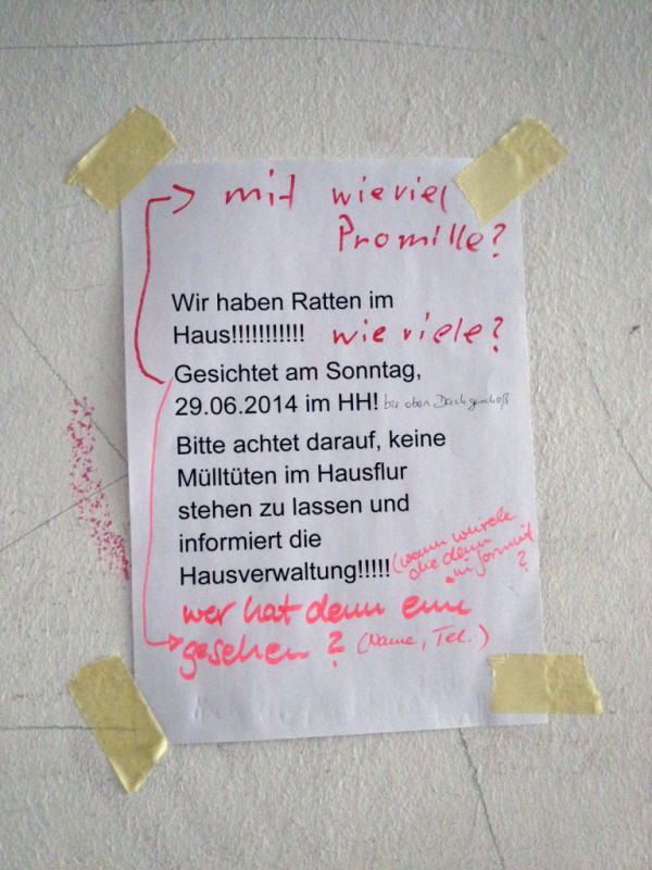 wir haben ratten im haus notes of berlin. Black Bedroom Furniture Sets. Home Design Ideas