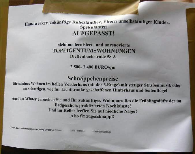 Gentrifizierung Berlin teure Wohnungen