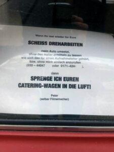 SCHEISS DREHARBEITEN - NOTES OF BERLIN