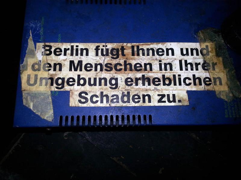 Berlin erheblichen Schaden