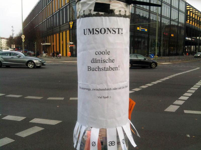 Daenemark in Berlin_Buchstaben