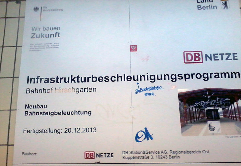 Deutsche Bahn-Infrastruktur-Berlin