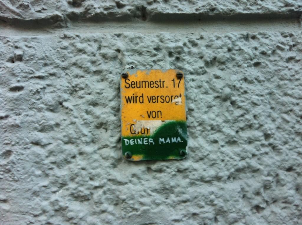 Seumestr 17 (Friedrichshain), gefunden von Swantje Kopie