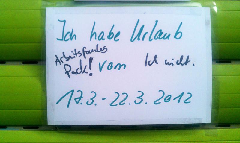 Urlaub-faules Pack-Berlin