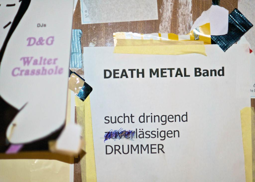 Drummer Death Metak Band Berlin