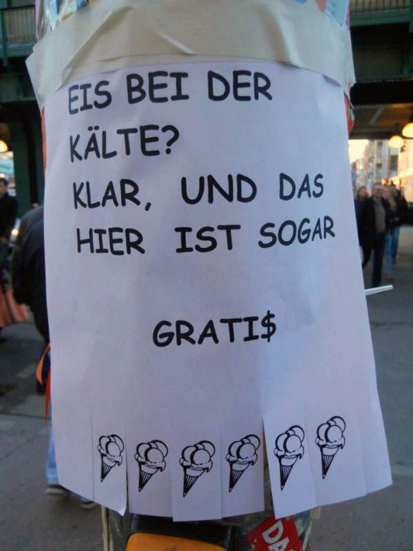 Eis in Berlin