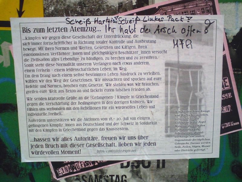 Griechenland Berlin Griechen Hartz 4 linkes Pack