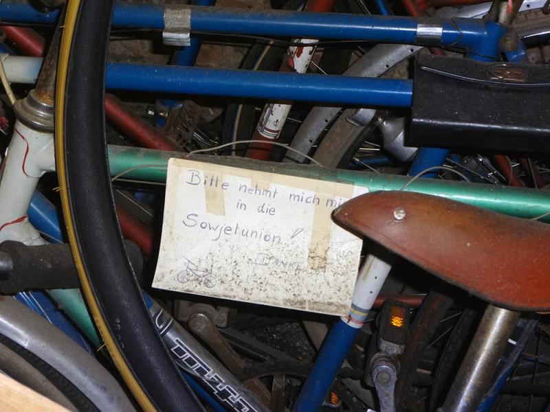 Kaputtes Fahrrad Berlin Russen