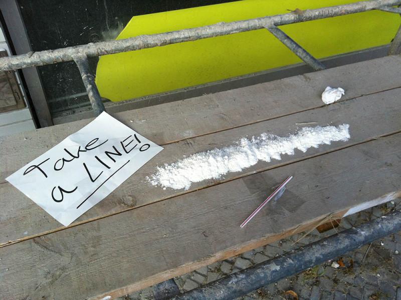 Koksen Drogen in Berlin