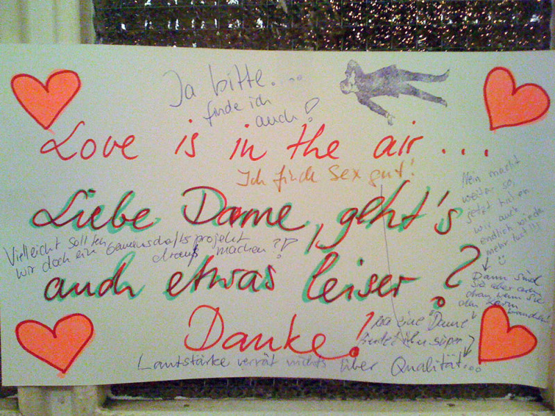 Liebe Love in Berlin- love in the air