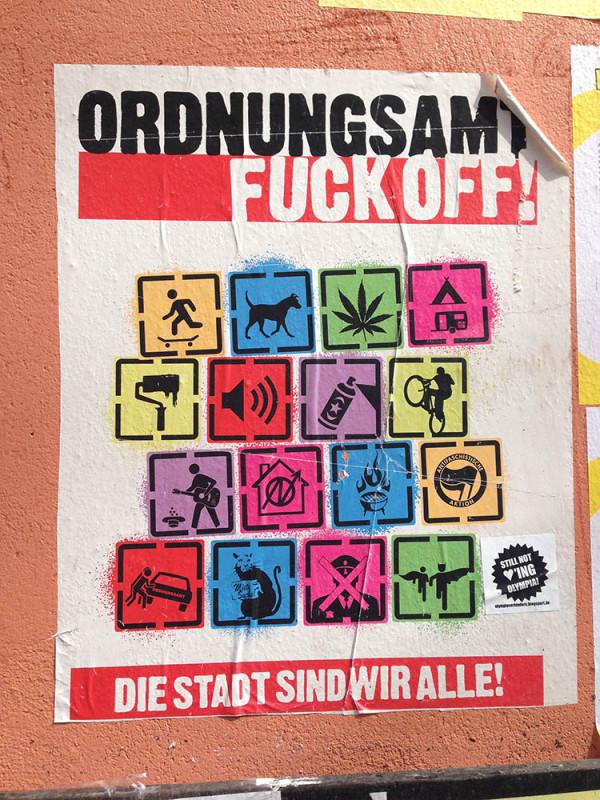 Ordnungsamt Berlin Fuck Off