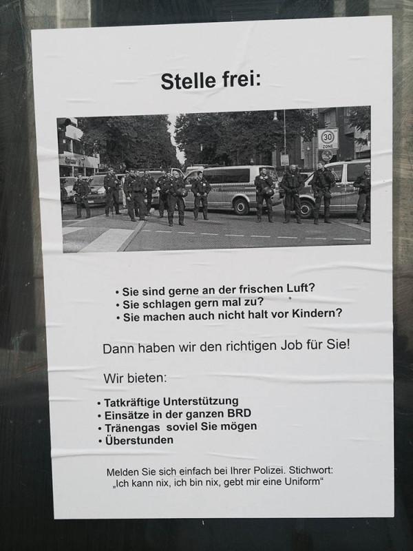 Stellenausschreibung Polizei Berlin Polizeijob