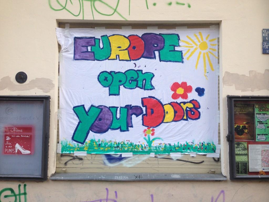 1 Mai Berlin Refugees