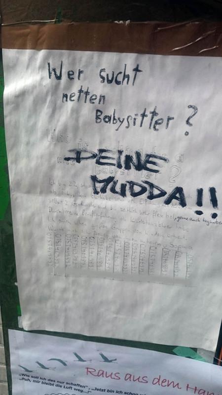 Babysitter gesucht Berlin Kreuzberg