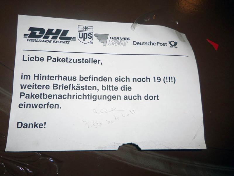 DHL hermes Deutsche Post Berlin