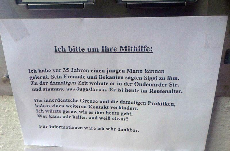Mann gesucht Berlin