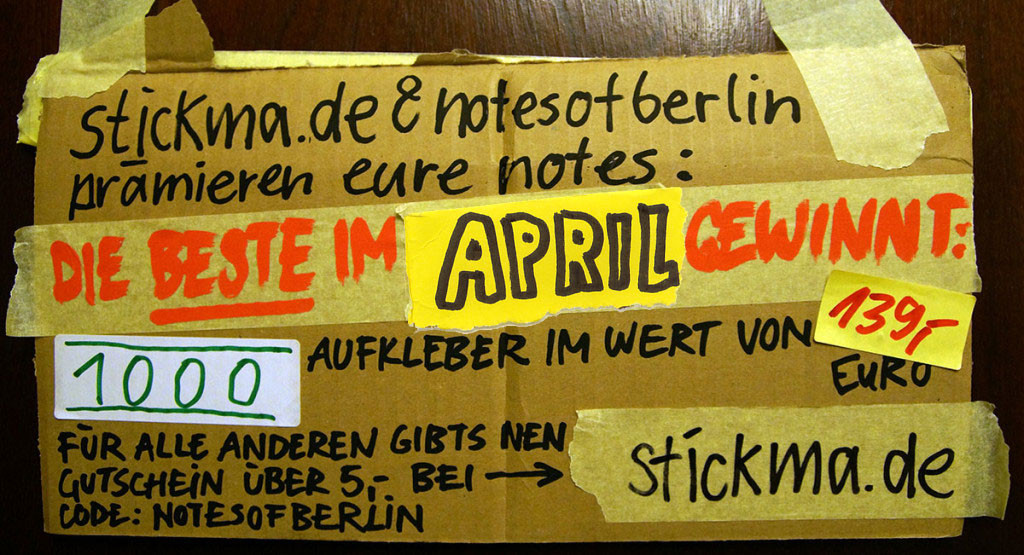 NOTES OF THE MONTH Berlin