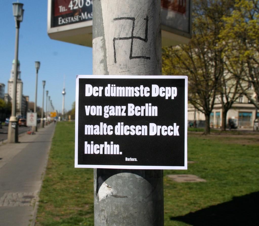 Nazis Berlin dumm