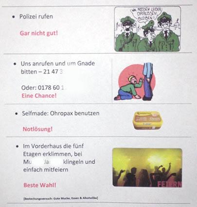 Party Berlin feiern Nachbarn
