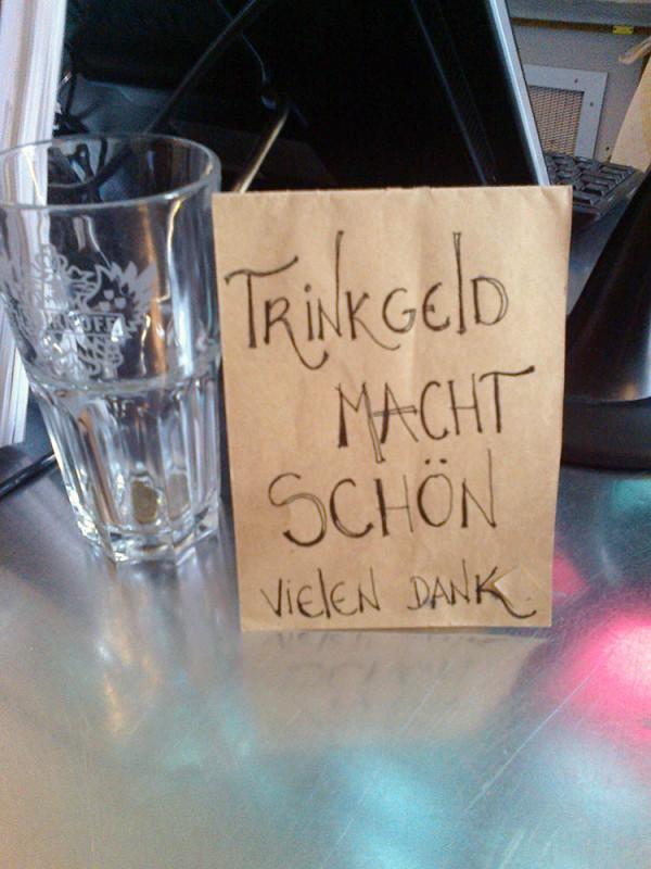 Trinkgeld Berlin