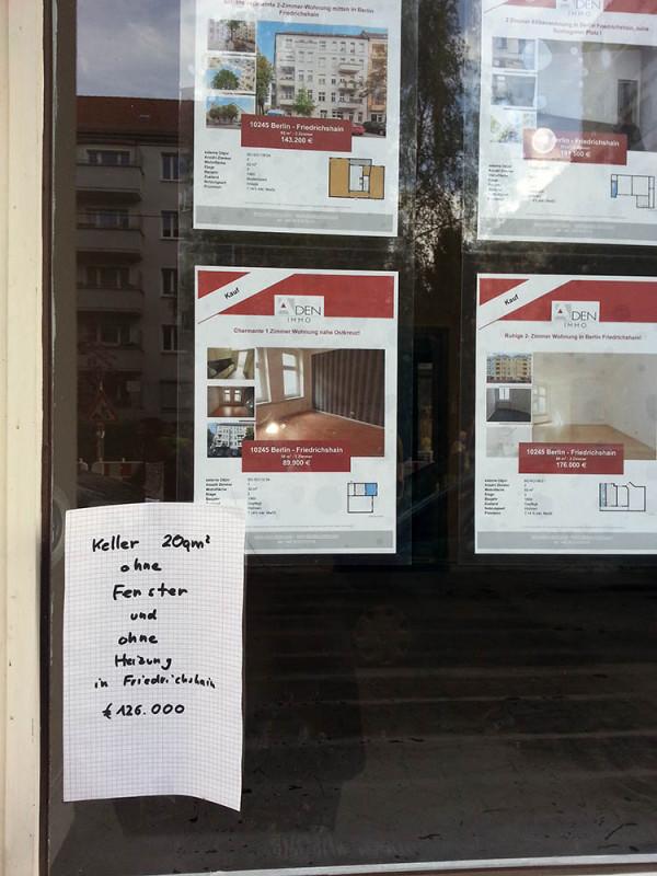 Wohnung kaufen Berlin Friedrichshain teuer