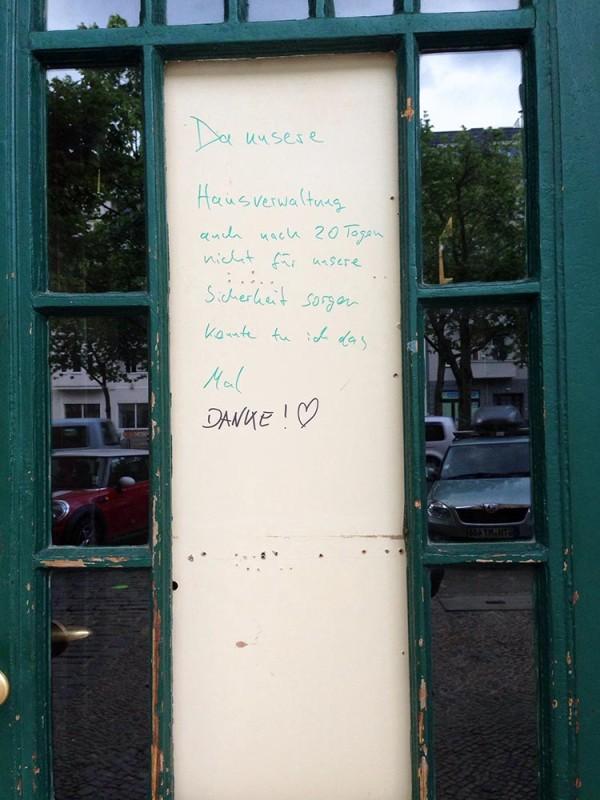 Dumme Hausverwaltung Berlin