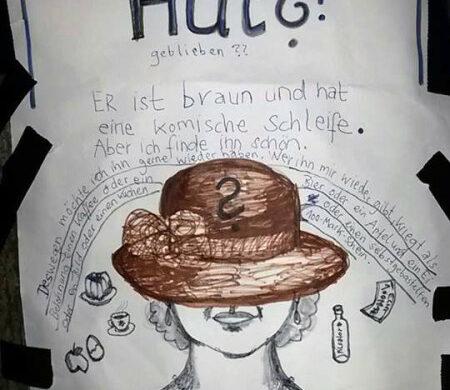 Hut verloren Berlin