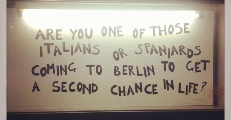 Italians Spaniards in Berlin