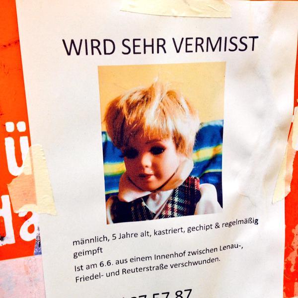 Kind vermisst Berlin