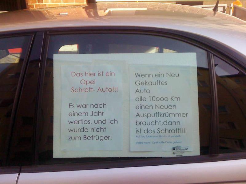 Opel Auto Berlin