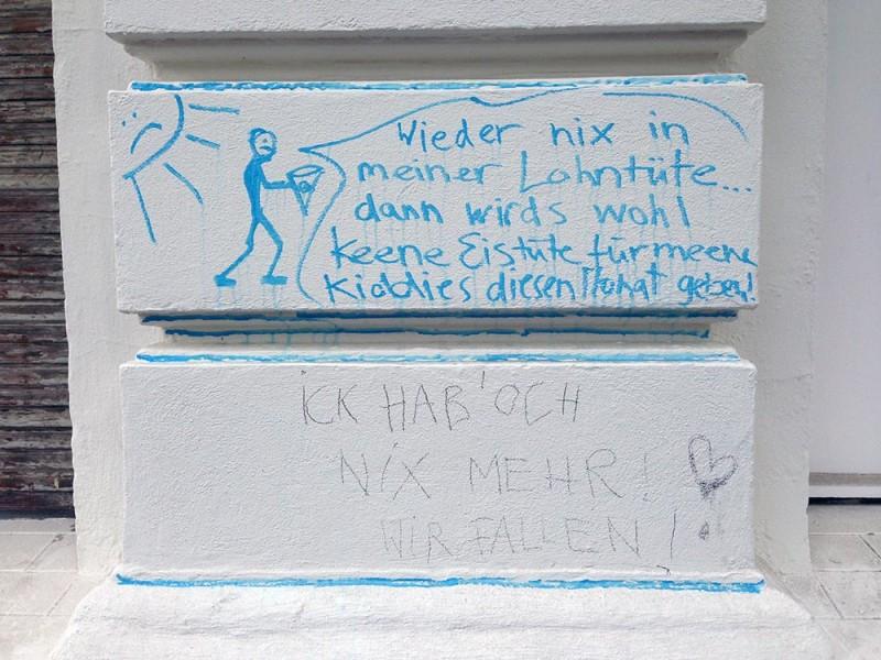Kein Geld mehr pleite Berlin
