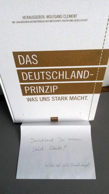 Griechenland Grexit Merkel Bundestag
