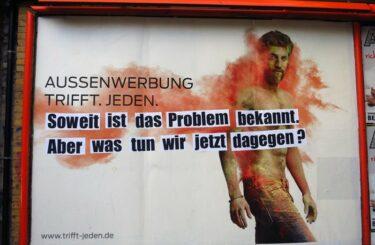 Adbusting Berlin Werbung