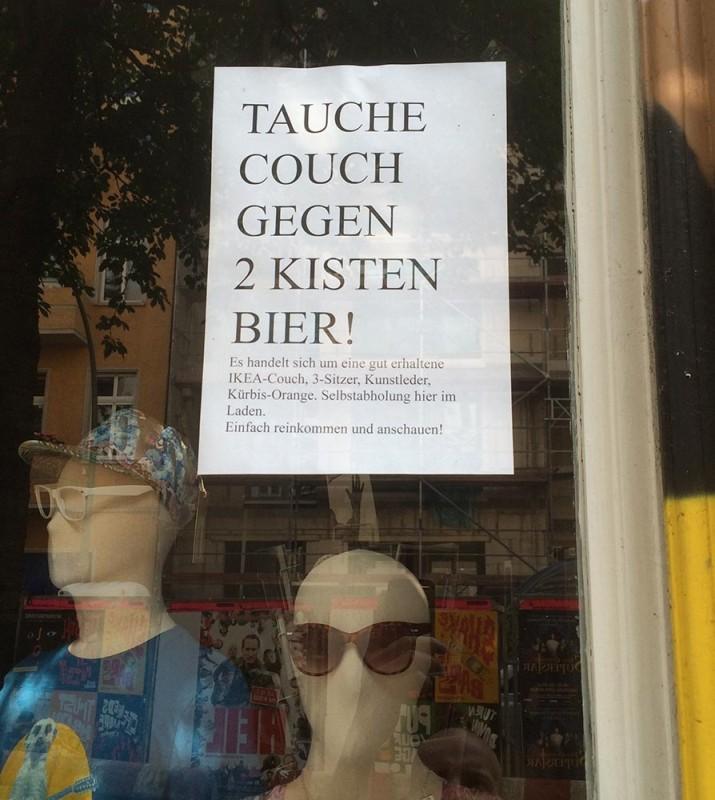 Tauschgeschäft Berlin