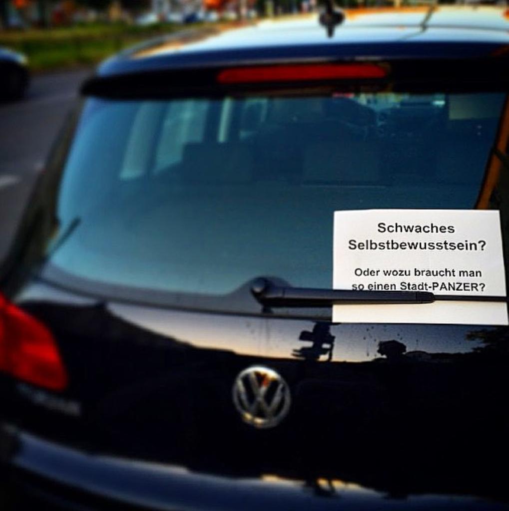 Volkswagen Sozialneid Stadtauto