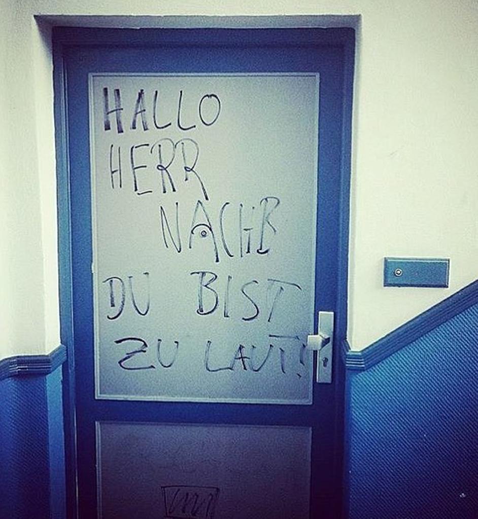 Laute Nachbarn Berlin