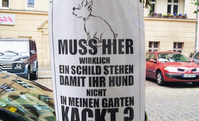 Hundekacke Berlin