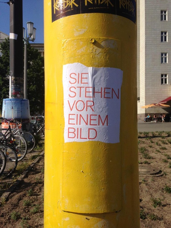 Kunst im öffentlichen Raum Berlin
