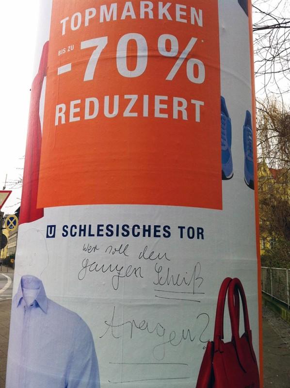 Sommerschlussverkauf Berlin