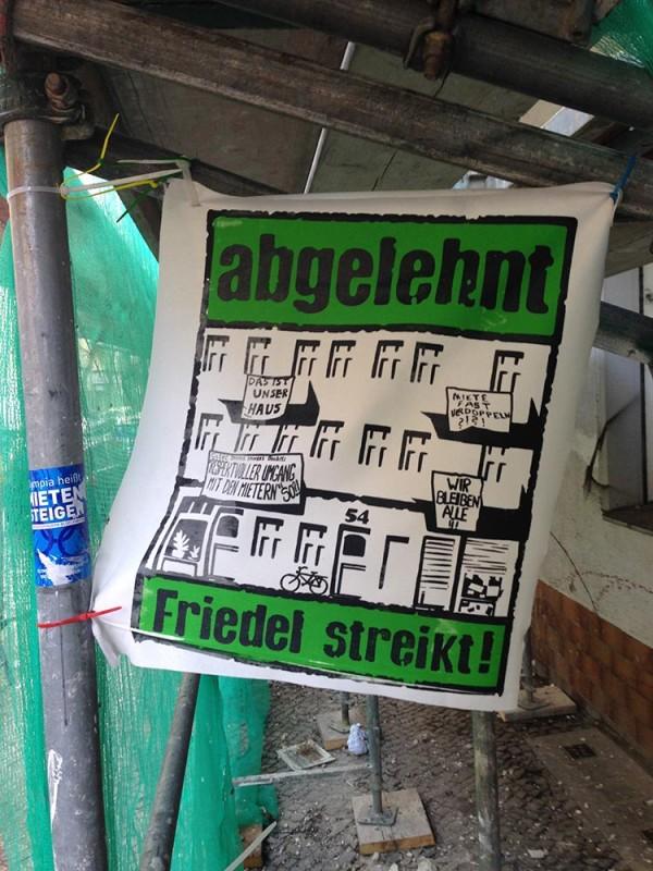 Friedel streikt