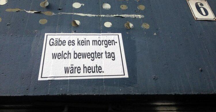 Sprüche aus Berlin