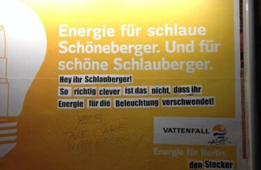 Adbusting Berlin